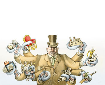 kleptocracy cartoon