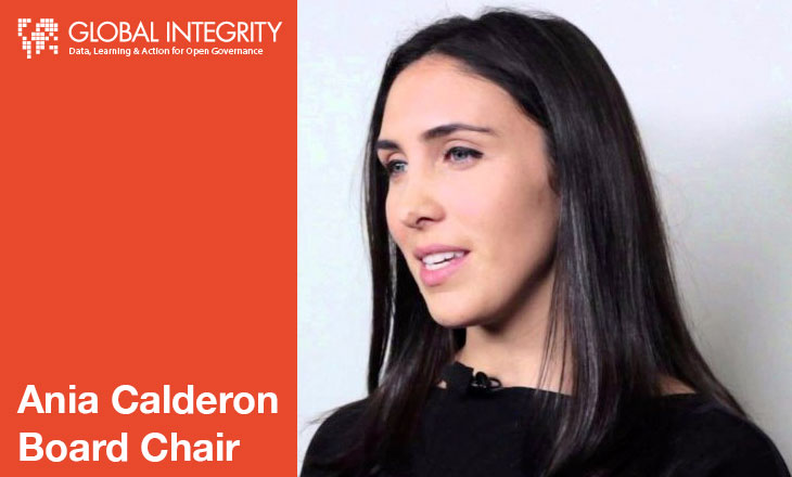 Ania Calderon Board Chair