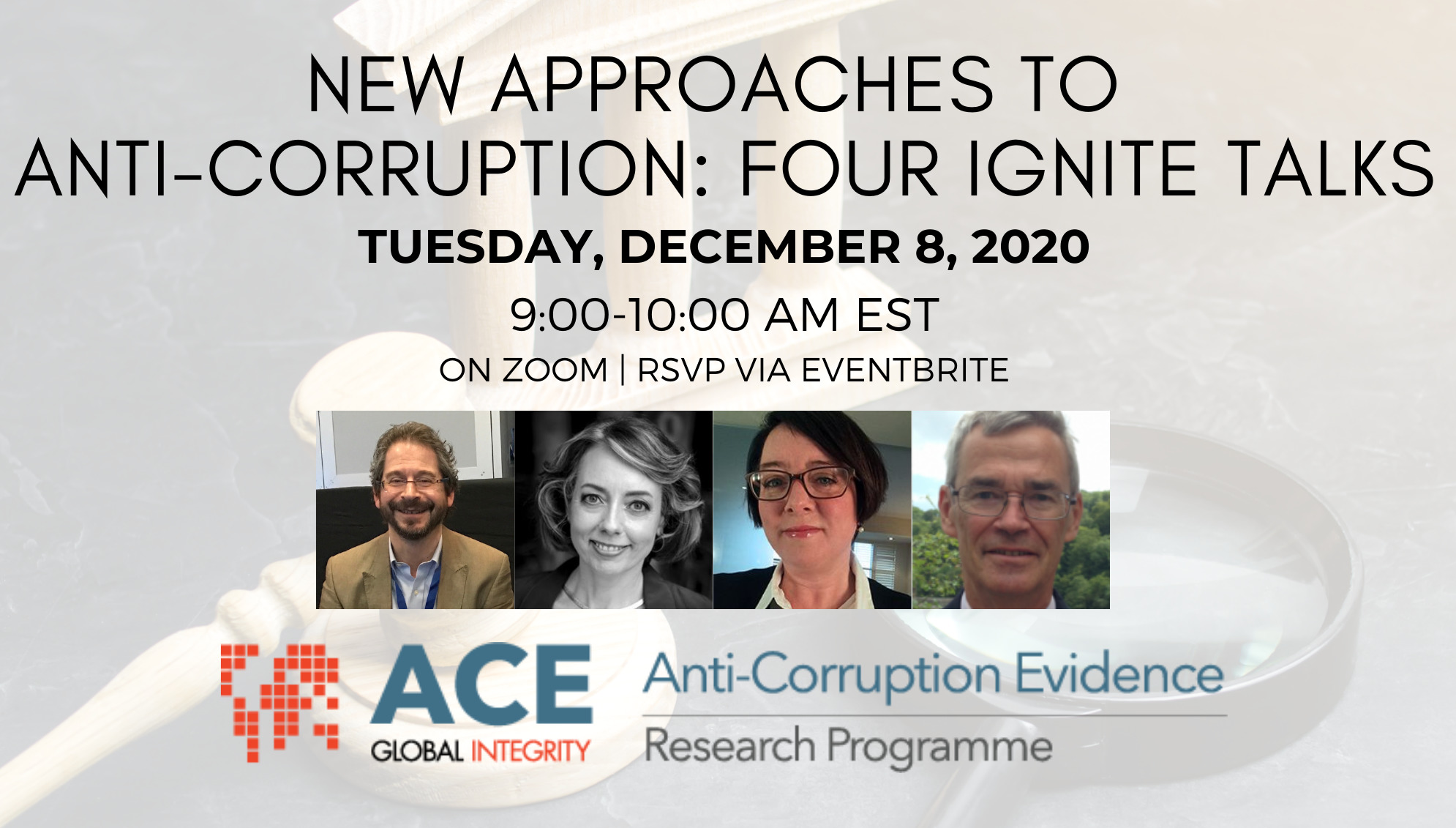 anticorruption talks